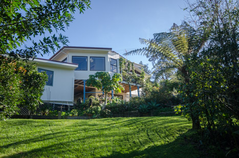Our base in Titirangi